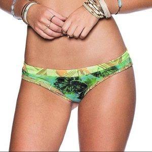 Maaji Leave Motif Bikini Bottom